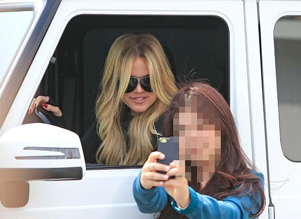 Khloe Kardashian is seen on May 06, 2015 in Los Angeles, California.