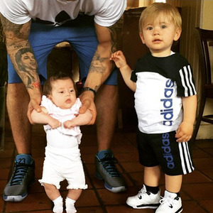 Dan Osborne shares picture of Ella and Teddy, 11 May 2015