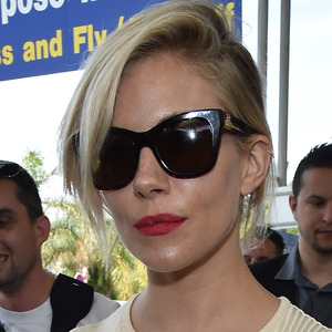 Sienna Miller lands at Nice Airport in France for Cannes Film Festival 12th May 2015