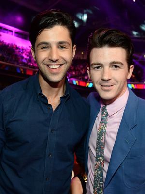 Josh Peck and Drake Bell, Nickelodeon's 27th Annual Kids' Choice Awards, LA March 2014