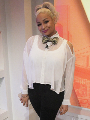 Raven Symone, The View 6 May