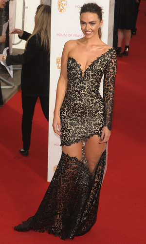 Jennifer Metcalfe at the TV Baftas - London - 10 May 2015.