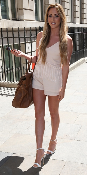 Charlotte Crosby launches her High Summer Clothing Collection at The Soho Sanctum Hotel, London 13 May