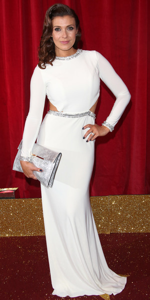 Kym Marsh attends the British Soap Awards 2015 held at the Palace Hotel, 16 May 2015