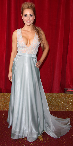 Stephanie Waring attends the British Soap Awards 2015 held at the Palace Hotel, 16 May 2015