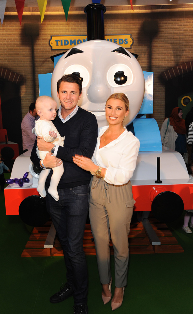 TOWIE's Billie Faiers, Greg and Nelly at Thomas the Tank Engine & Friends Celebrate 70th Anniversary at British Museum, London, Britain - 09 May 2015