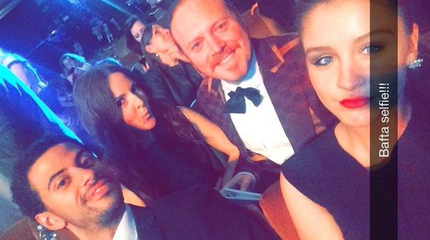 Brooke Vincent Bafta selfie