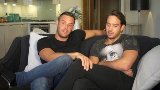 Elliott Wright and James Lockie Lock in new TOWIE video, 15 May 2015