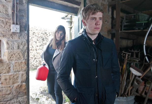 Emmerdale, Chrissie threatens Robert, Thu 14 May