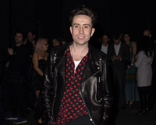 Nick Grimshaw at the Brit Awards Universal Afterparty held at the Old Sorting Office - Arrivals - 25 February 2015.