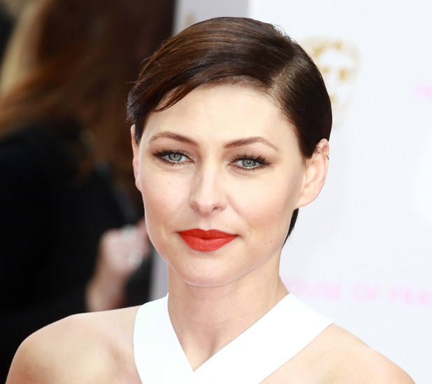 Emma Willis on the red carpet at the TV BAFTA awards 11th May 2015