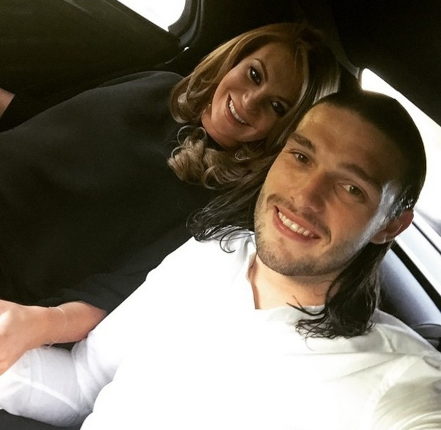 Billi Mucklow and Andy Carroll enjoy date night, Instagram 12 May
