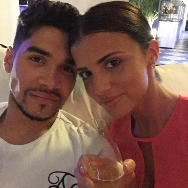 Lucy Mecklenburgh and Louis Smith on holiday, Instagram 15 May
