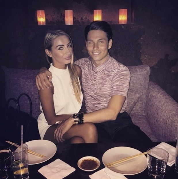 Bethany Hitch shares date night photo with Joey Essex, 29th April 2015