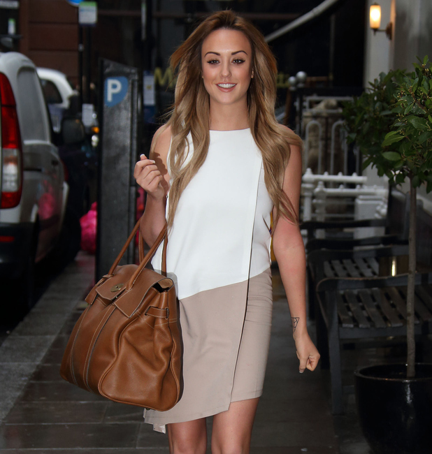 Geordie Shore's Charlotte Crosby with Mulberry Handbag launching new clothing collection January 28th 2015, May 11th 2015
