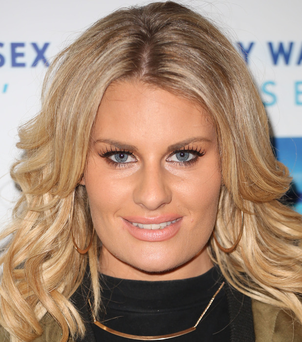 TOWIE'S Danielle Armstrong at The Only Way Is Essex Marbs Edition fragrance launch 11th May 2015