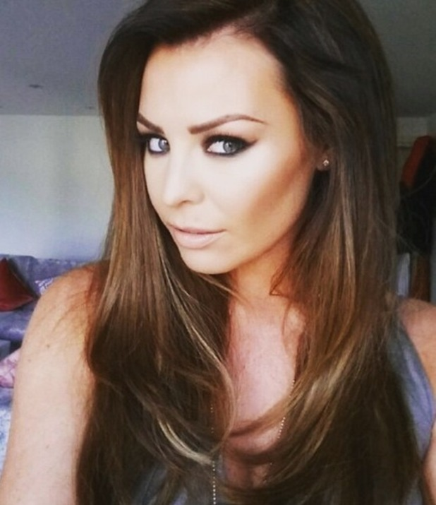 Jess Wright shows off her new hairstyle on Instagram, 14th May 2015