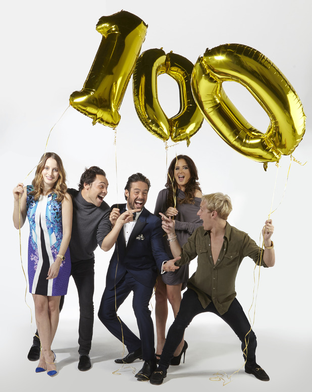 Made In Chelsea cast to celebrate 100th episode anniversary - 14 May 2015.
