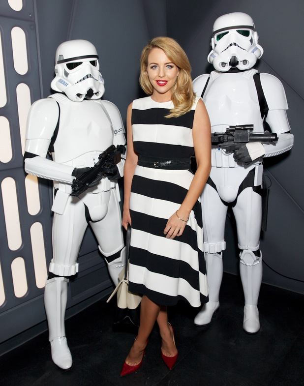 TOWIE's Lydia Bright at the 'Star Wars at Madame Tussauds' VIP opening, London, Britain - 13 May 2015