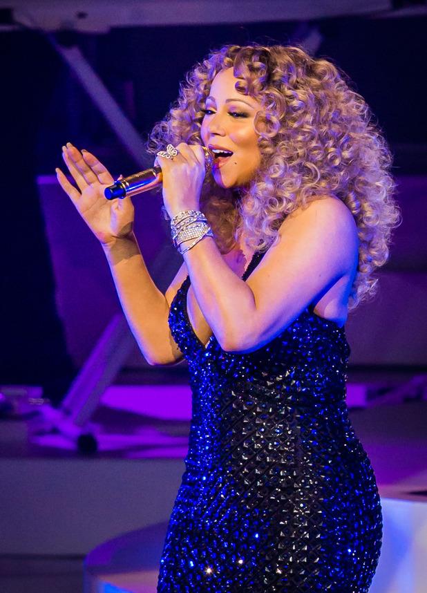 Mariah Carey residency debut at The Colosseum, Las Vegas, America - 06 May 2015.