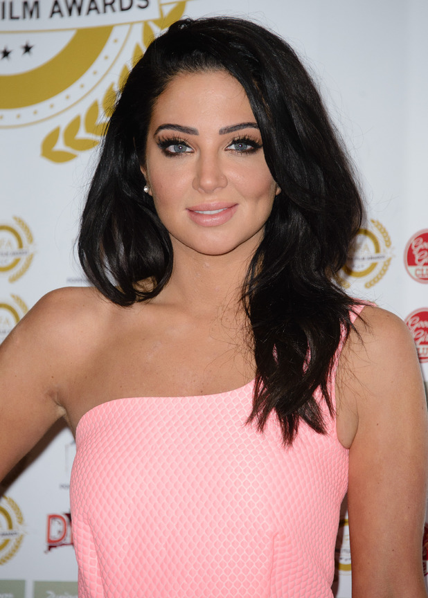 Tulisa Contostavlos at the National Film Awards - 31 March 2015.