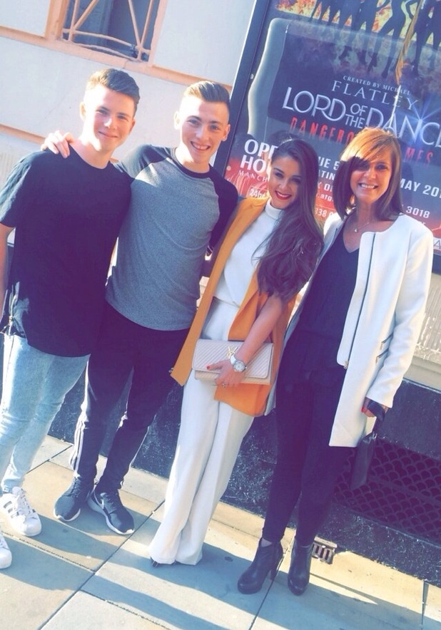 Brooke Vincent at Lord Of The Dance, Manchester 13 May
