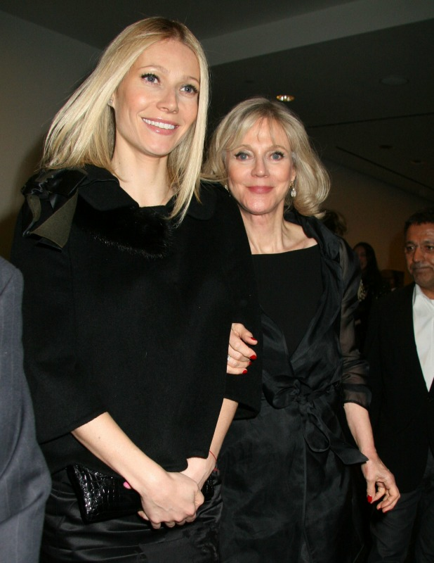 Gwyneth Paltrow and her mother Blythe Danner New York Premiere of 'Valentino: The Last Emperor' at the Roy and Niuta Titus Theatre, Musuem of Modern Art - Inside Arrivals