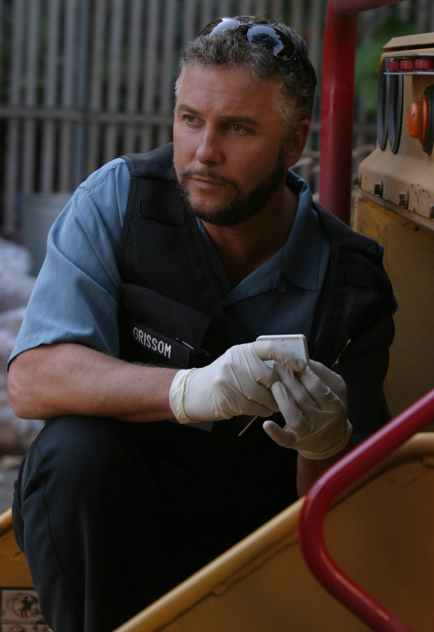 Grissom (William Peterson) is distrubed by the return of the blue paint serial killer that got away two years ago, on CSI: CRIME SCENE INVESTIGATION, broadcasting on the CBS Television Network. (Photo by Robert Voets/CBS Photo Archive via Getty Images)