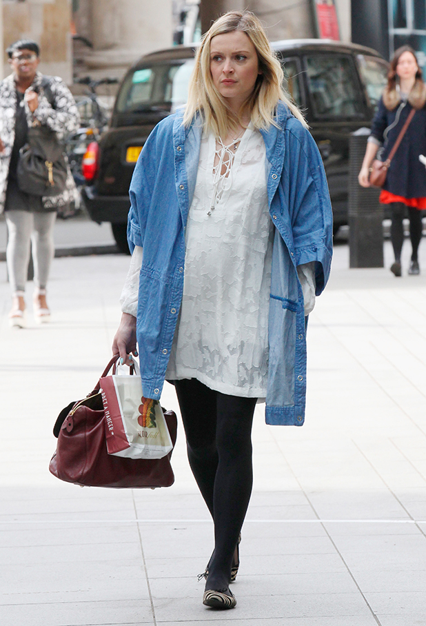 Fearne Cotton out and about, London, Britain - 11 May 2015