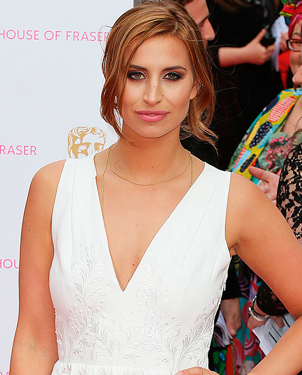 Ferne McCann, House Of Fraser British Academy Television Awards (TV BAFTA) 2015 - Arrivals