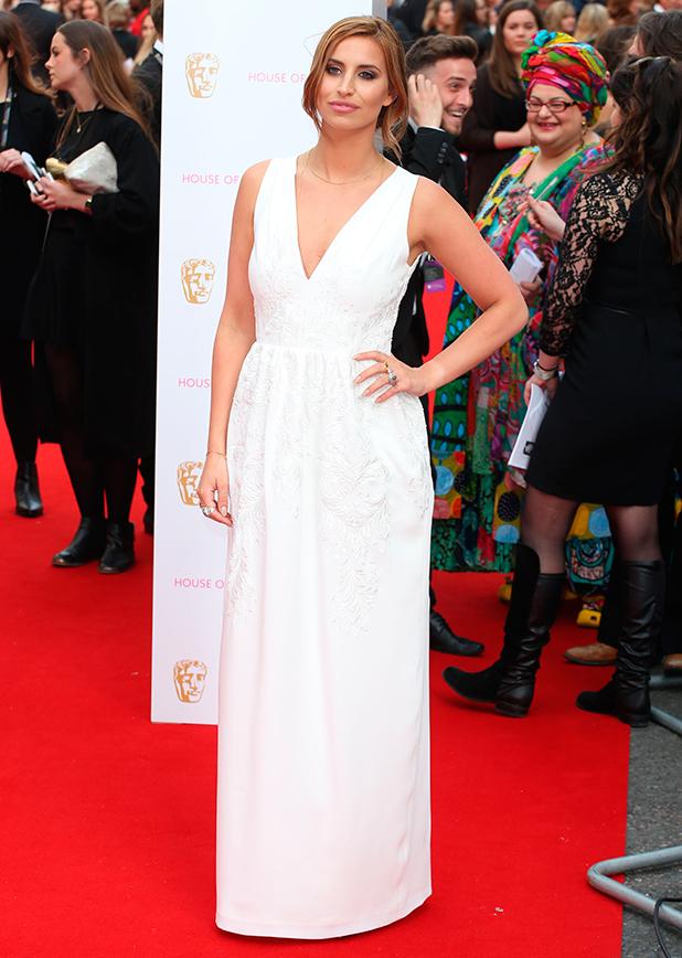 Ferne McCann, House Of Fraser British Academy Television Awards (TV BAFTA) 2015 - Arrivals