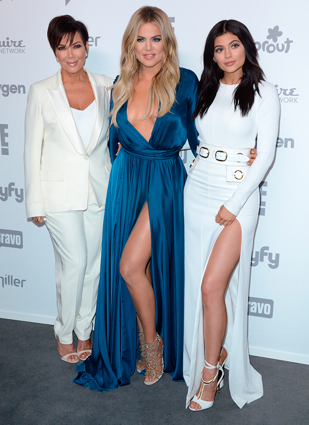 Kylie Jenner and Khloe Kardashian, 2015 NBC Universal Cable Entertainment Upfront - Red Carpet Arrivals, 2015