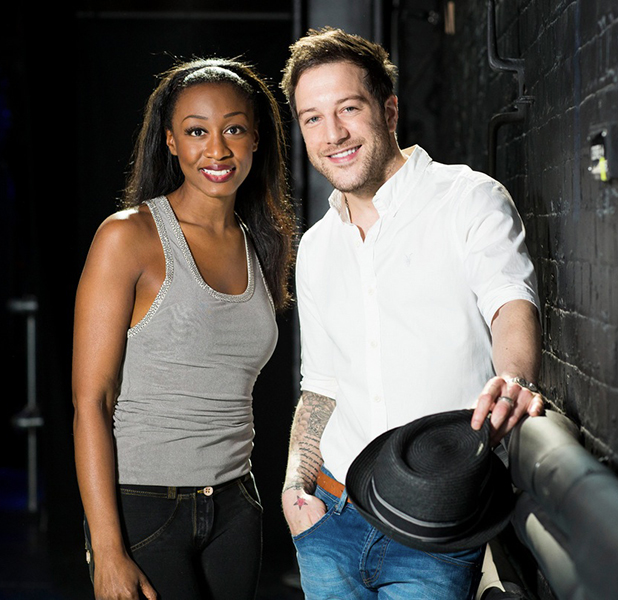 Matt Cardle and Beverley Knight for Memphis The Musical, 2015