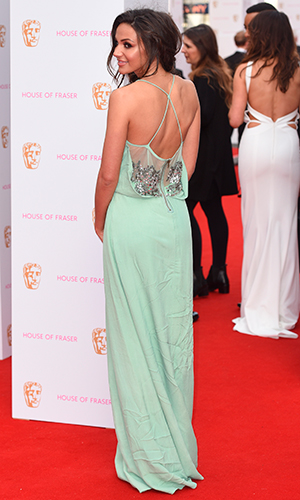 Michelle Keegan, The House of Fraser British Academy Television Awards 2015 held at Theatre Royal, Drury Lane - Arrivals