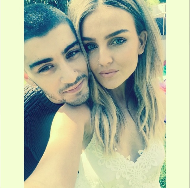 Perrie Edwards and Zayn Malik, Instagram 13 May