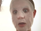 Kelly Osbourne joins the 'scary face mask selfie' trend!