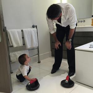 Simon Cowell shares very cute snap of son Eric, 23 May 2015