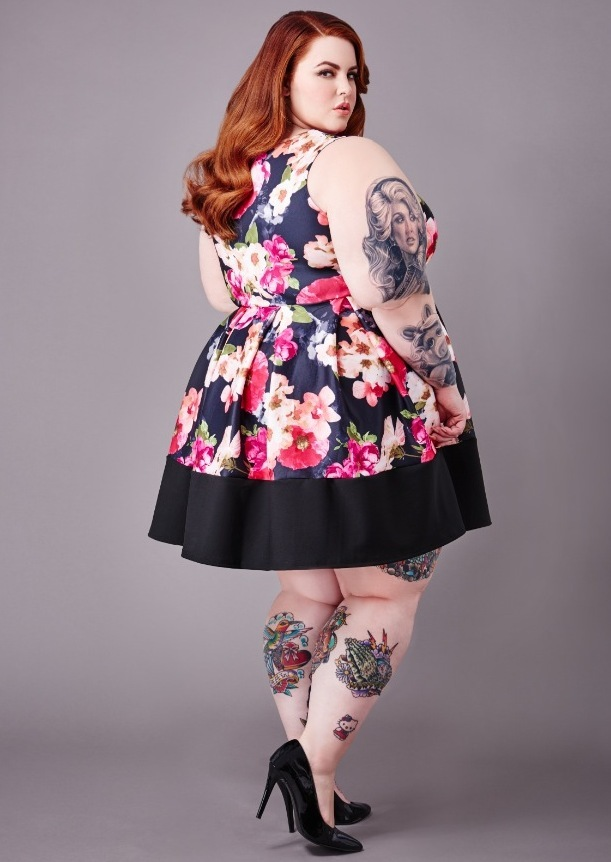 Tess Holliday wearing Yours Clothing 22nd May 2015