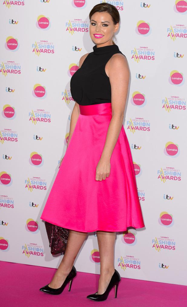 Jessica Wright at Lorraine's High Street Fashion Awards, London, Britain - 19 May 2015
