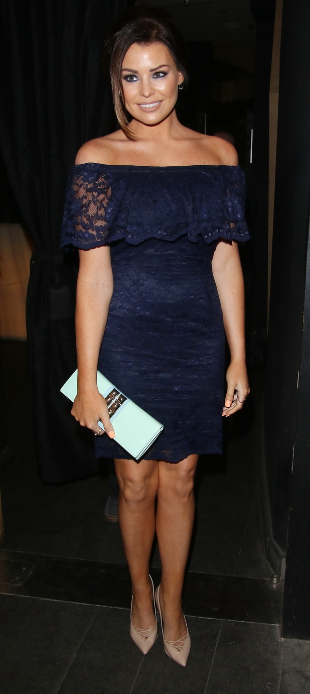 TOWIE's Jess Wright arriving for the Fashion TV party,  03/04/15