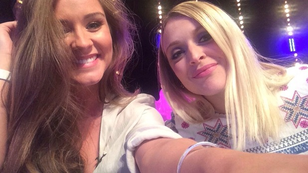 Brooke Vincent blog: Brooke and Fearne Cotton 20 May
