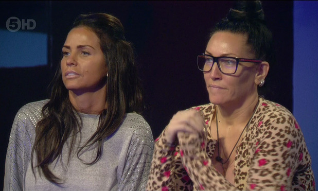 Katie Price and Michelle Visage on Celebrity Big Brother January 2015