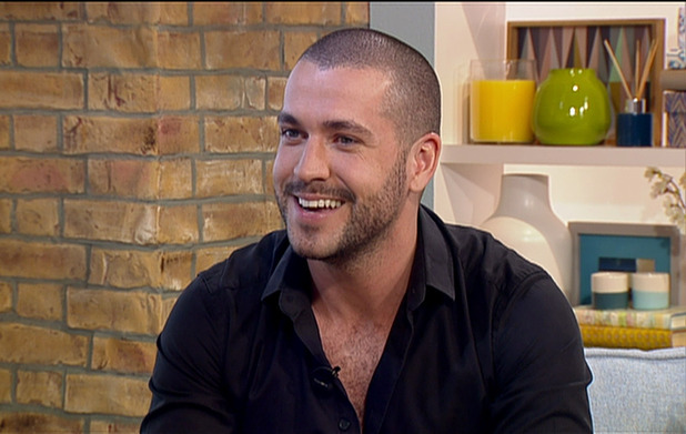 Shayne Ward discusses joining the cast of ITV soap opera 'Coronation Street', on 'This Morning'. Broadcast on ITV1 HD. 21st May 2015