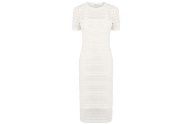 Oasis white lace stripe dress £35, 22nd May 2015
