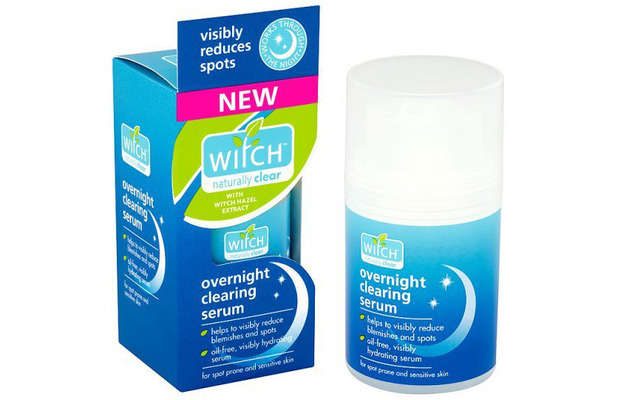 Witch Hazel Skincare Overnight Clearing Serum £5.99, 21st May 2015