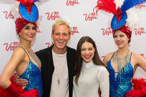 Jamie Laing and Louise Thompson, Las Vegas and Made In Chelsea joined forces to launch a nationwide search for the best British accent, 20th May 2015