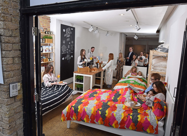 Fifty per cent of people have never had breakfast in bed