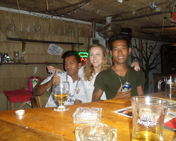 With the locals at Footprint, 19/5/15
