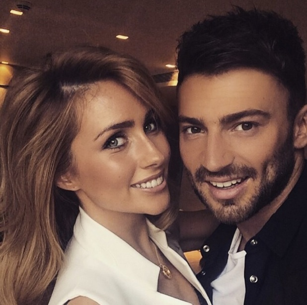 Jake Quickenden and Danielle Fogarty in London 19 May