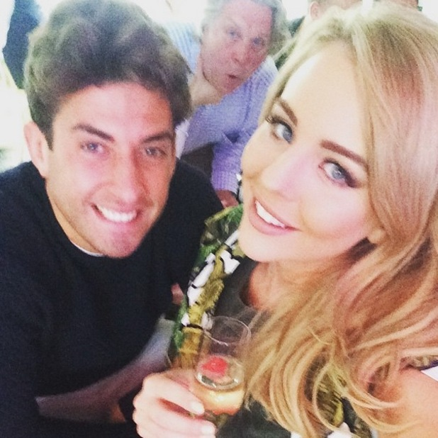 Lydia Bright and James Arg Argent, Instagram 17 May